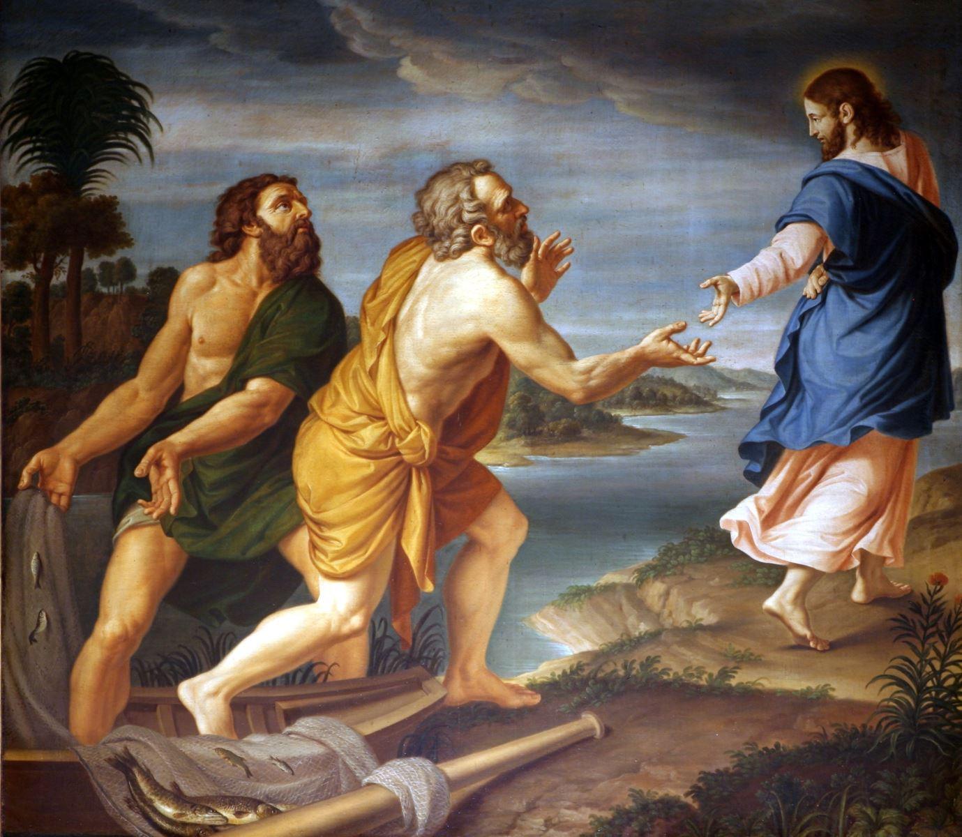 Risultati immagini per Gesù vocazione chiamata